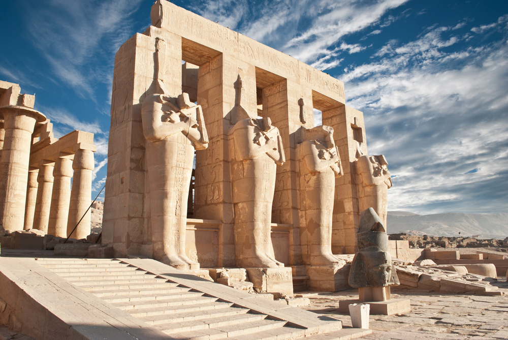 Ramesseum temple Tour 2